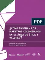 Etica y Valores Colombia