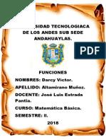 Universidad Tecnologiaca de Los Andes Sub Sede Andahuaylas