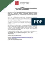 Edital - Bolsas Ibero-Americanas 2019