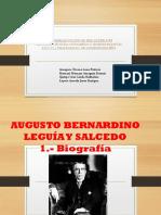 Augusto Bernardino y Leguia