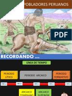 Primeros Pobladores Del Peru