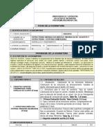 00 PROGRAMA   Modulo Estructuras Hidraúlicas- ESPECIALIZACION Estructuras-Dalia- Abril  2019