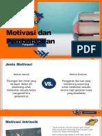 Motivasi Dan Pembelajaran