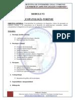 Modulo Vi - Psicopatologia Forense