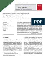 Localización Confiable Del Iris Utilizando La Transformada de Hough, La Bisección de Histograma y La Excentricidad