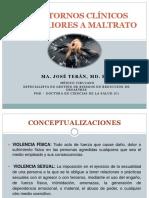 Trastornos Clínicos Posteriores a Maltrato