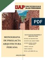 Monografía de Pikillacta