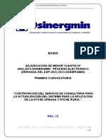 Contratacion Del Servicio de Consultoria Para La Actualizacion Del Sistema Para La Aplicacion de La Ntcse Urbana y Ntcse Rural