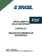 RBSB 7 - Requisitos Minimos de Seguranca - Emenda 0