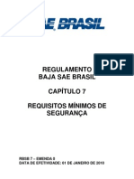 RBSB 7 - Requisitos Minimos de Seguranca - Emenda 0