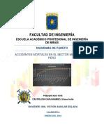 Análisis de Accidentes Mortales en La Minería en El Perú