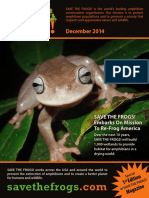SAVE THE FROGS! Magazine - December 2014 Edition