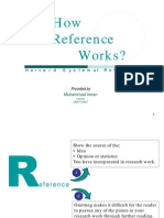 Reference Writing in Research
