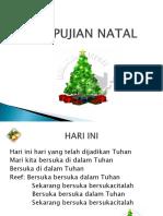Power Point Puji-Puijan Natal