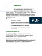 Geopolítica en Argentina