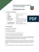 Acuarios Plantados - Información Del Curso 2015 - Oct