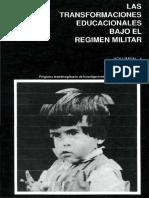 Las transformaciones educacionales bajo el régimen militar.pdf