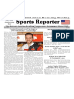 May 1 - 7, 2019  Sports Reporter