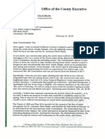 Monroe County Executive Cheryl Dinolfo's letter to IJC