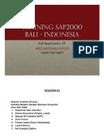 Training Sap2000 Indonesia