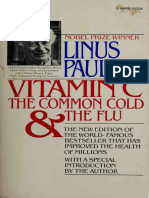 Vitamin C, The Common Cold, & the Flu - Linus Pauling PDF [Orthomolecular Medicine]