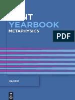 (Kant Yearbook) Dietmar H. Heidemann, Dietmar H. Heidemann-Metaphysics -De Gruyter (2010).pdf