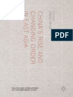 [Politics and Development of Contemporary China] David Arase (eds.) - China's Rise and Changing Order in East Asia (2016, Palgrave Macmillan US).pdf