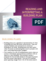 Building Plan Interpretation