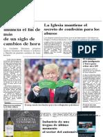 Portada El País Trump