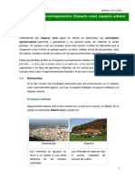 Espacio Rural y Urbano