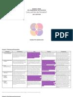 teaching framework 2018-19