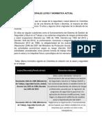 informe normativa sst