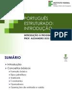 Aula 04 Introducao Portugol