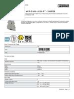 Signal duplicator-MINI MCR-2-UNI-UI-2UI-PT-2905028