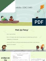 assessment portfolio edci 3483