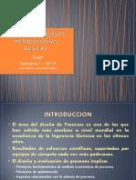 1. Presentación I Diseño de Procesos Conceptos