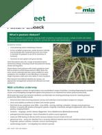 Pasture Dieback Fact Sheet May2018