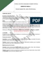 DERECHO PENAL 1, Segundo Examen Parcial.