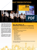 ACE Student Presentation Flyer