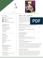 desiree resume