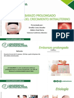 Embarazo Prolongado y RCIU