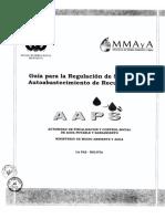 Guia Regulacion de Sistemas de Autoabastecimiento de Recurso Hidrico