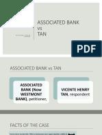 Associated Bank vs Tan