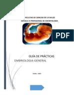 Guía de Práctica de Embriología General Scribd
