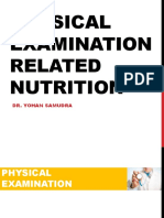 Physical Examination Related Nutrition