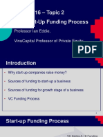The Start-up Funding Process