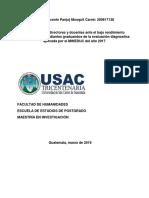 Informe Investigación-Acción Maestria 24-02-2019