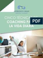 5 Tecnicas de Coaching Para La Vida Dria