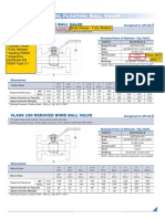 Ball Valve Forged Floating Class 150