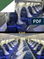 novas acomodacoes em avioes